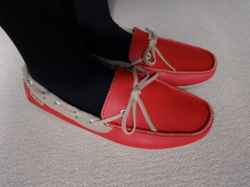 ローファー「wrap ColorLite loafer」
