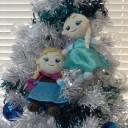 アナと雪の女王クリスマスツリー
