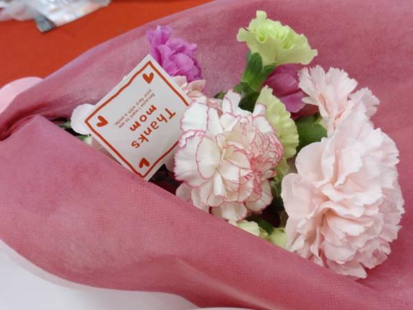 母の日ギフト スイーツ&花束