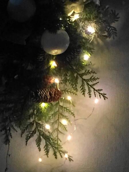 クリスマス アーティフィシャルスワッグ「リソナ」
