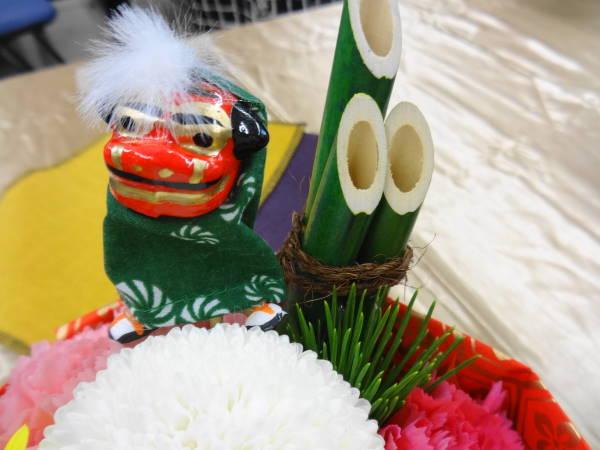 そのまま飾れるブーケ『門松』