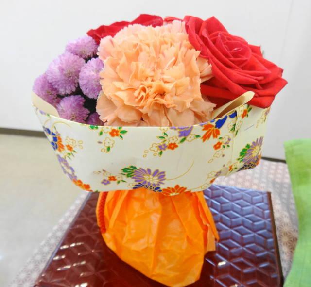 日比谷花壇敬老の日そのまま飾れるブーケ